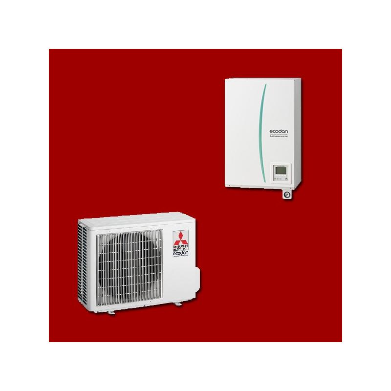 Pompe à Chaleur Air/Eau EHSD-VM2C / PUHZ-SW45VA MITSUBISHI ELECTRIC
