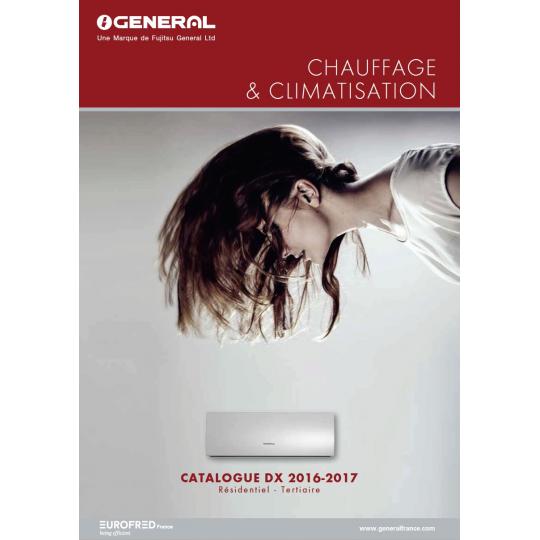 Catalogue Climatisation GENERAL FUJITSU 2016-2017