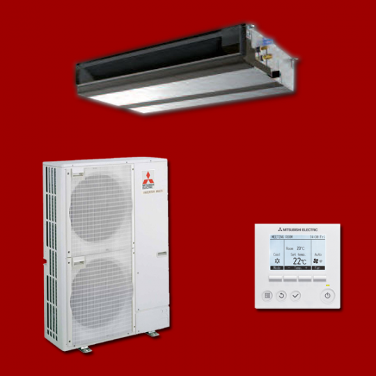 Climatiseur Gainable Inverter PEAD-M140JA / PUHZ-P140VKA MITSUBISHI ELECTRIC