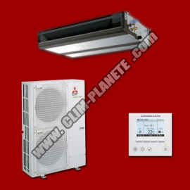 Climatiseur Gainable Inverter PEAD-M140JA / PUHZ-ZRP140VKA3 MITSUBISHI ELECTRIC