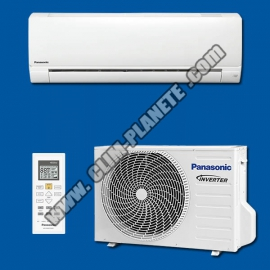 Climatiseur Mono Split Réversible Inverter KIT CS-FZ35WKE PANASONIC