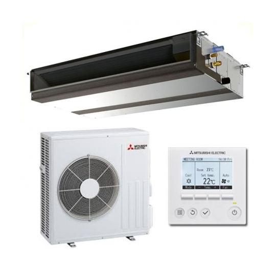 Pompe à Chaleur Inverter Gainable PEAD-M100JA / PUZ-M100YKA MITSUBISHI ELECTRIC