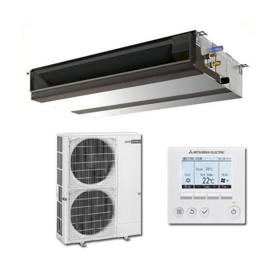 Pompe à Chaleur Inverter Gainable PEAD-M100JA / PUHZ-ZRP100VKA3 MITSUBISHI ELECTRIC