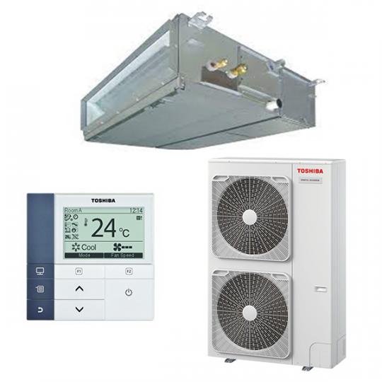 Pompe à Chaleur Inverter Gainable RAV-GM1101ATP-E / RAV-RM1101BTP-E TOSHIBA